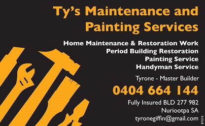 banner image for Tyrone Giffin - Tys Home Maintenance & Painting Services